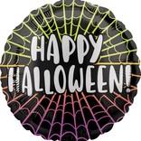 """18"""" Happy Halloween Webs"""