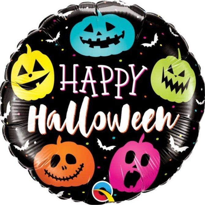 """18"""" Halloween Jack Faces Balloon"""