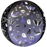 "16"" Moonlight Halloween Orb"