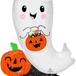 """46"""" Halloween Ghost Airloonz"""