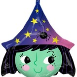 "17"" Halloween Witch Balloon"