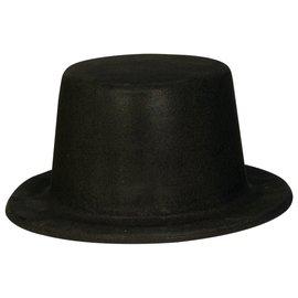 Black Felt Hollywood Top Hat