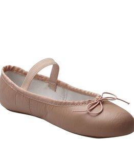 Johnny Brown Johnny Brown Leather Ballet Slipper