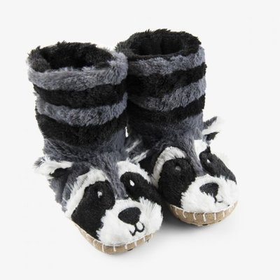 Little Blue House Little Blue House Raccoon Slippers