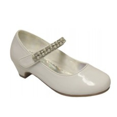 Angels New York Angels White Patent High Heel