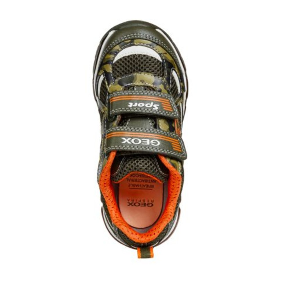 Geox Geox J Android Military/Orange