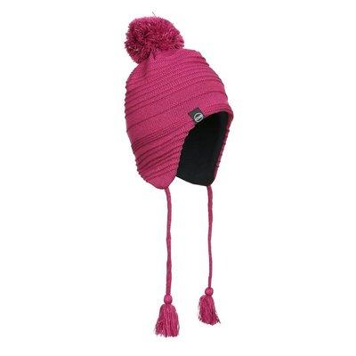 Kombi Kombi Reflective Pompom Jr Hat Framboise