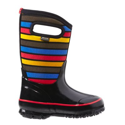 Bogs Bogs Classic Stripes Black Multi