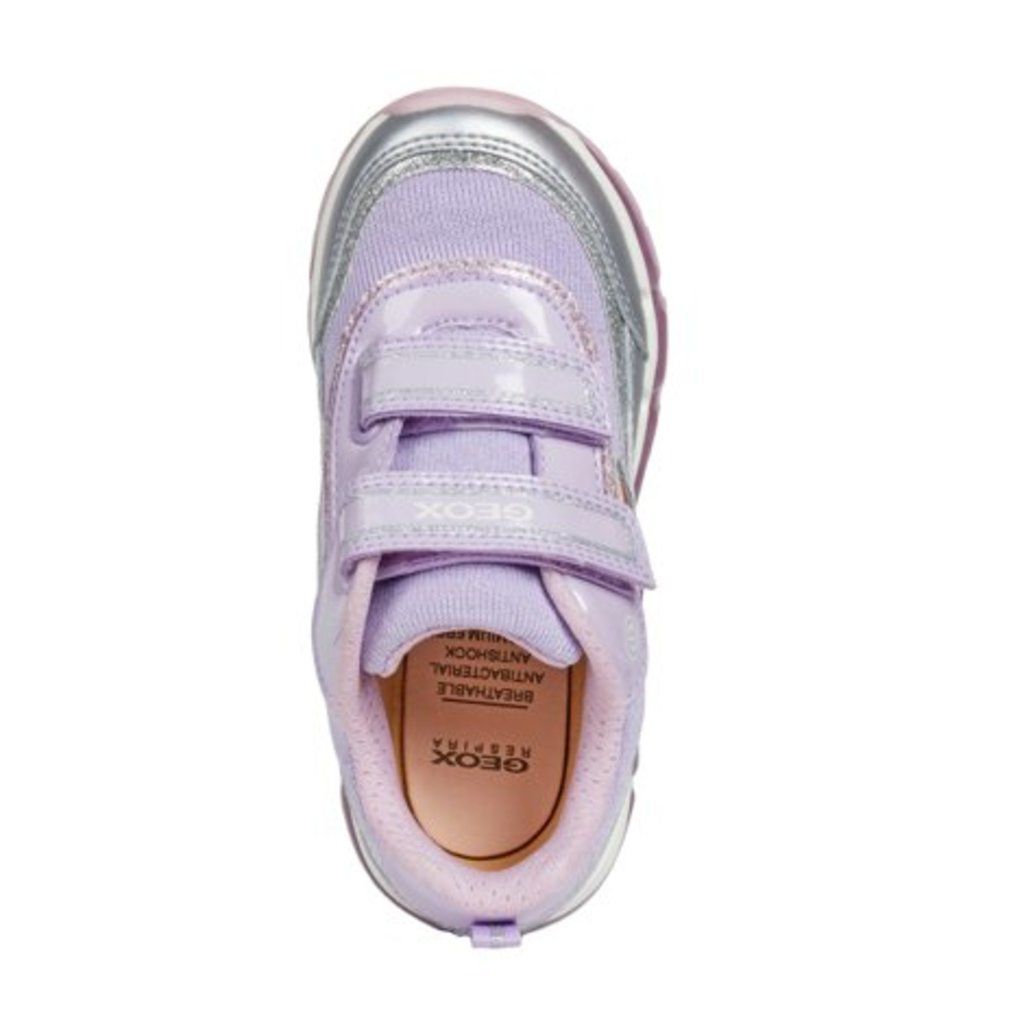 Geox Geox J Android Silver/Lilac