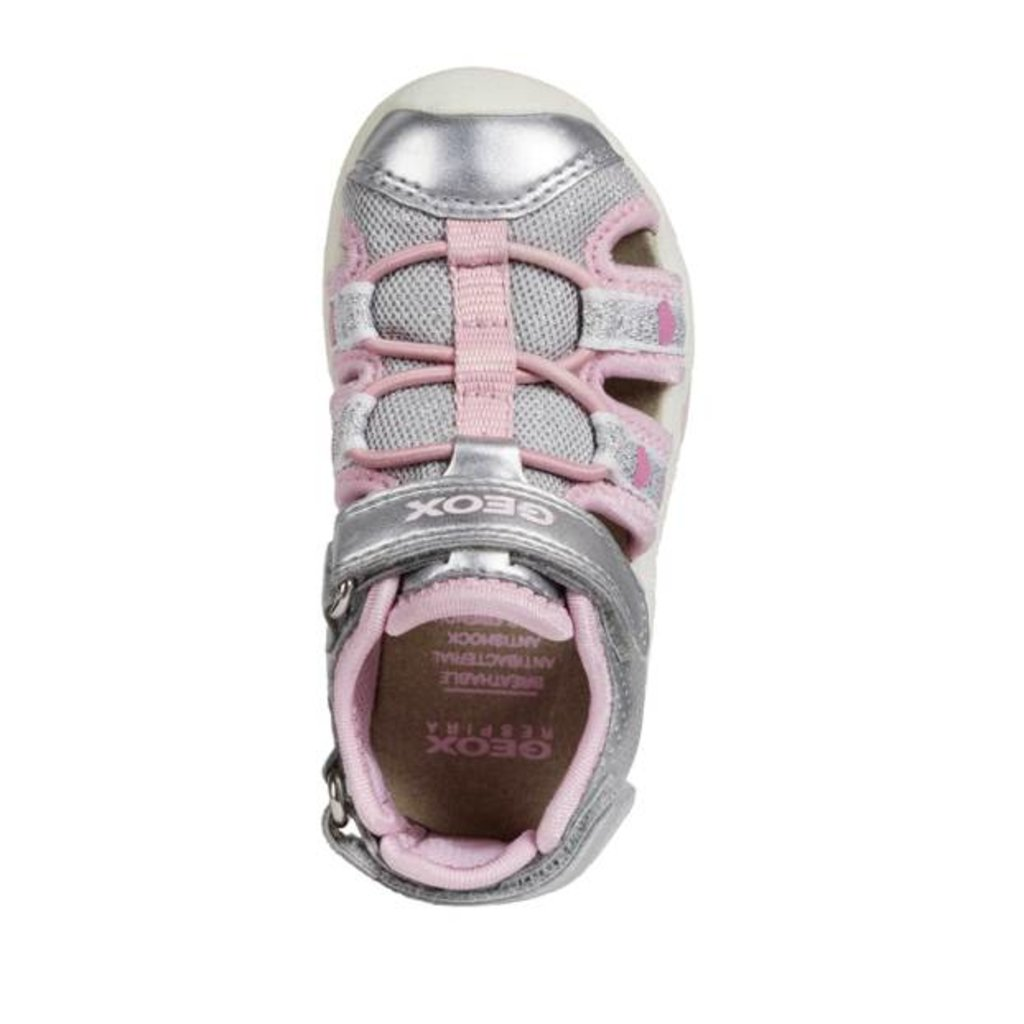 Geox Geox B Sand Multy Silver/Pink