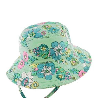 Millymook Dozer Millymook Dozer Holiday Bucket Sunhat Mint