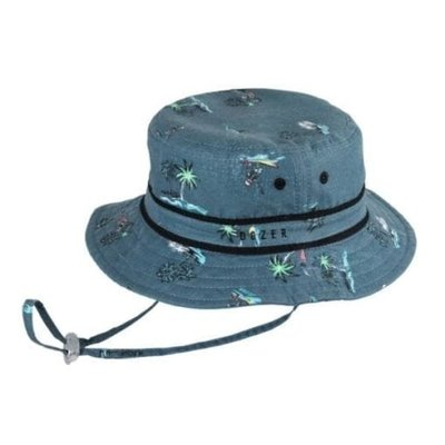 Millymook Dozer Millymook Dozer Bare Bones Bucket Sunhat Blue