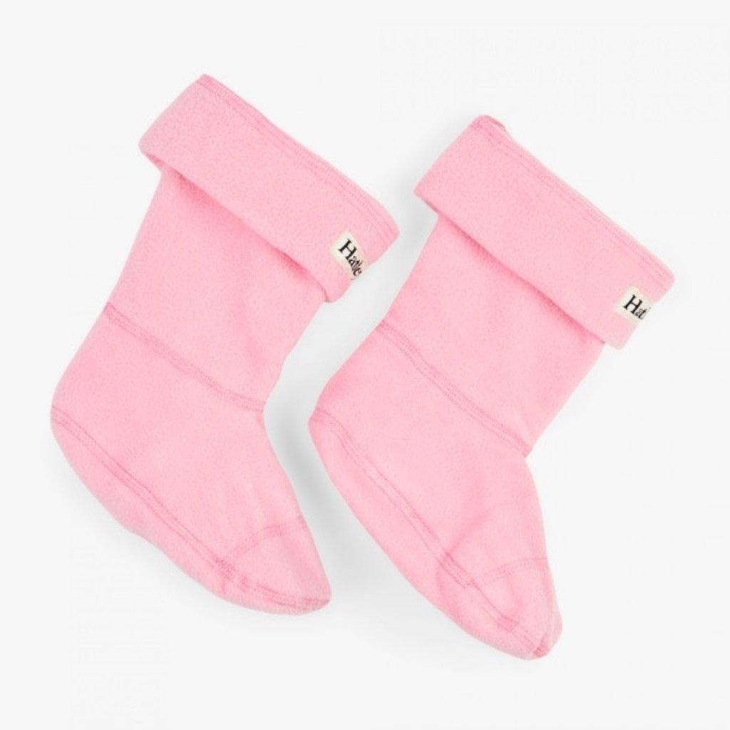 Hatley Hatley Fleece Boot Liners Pink