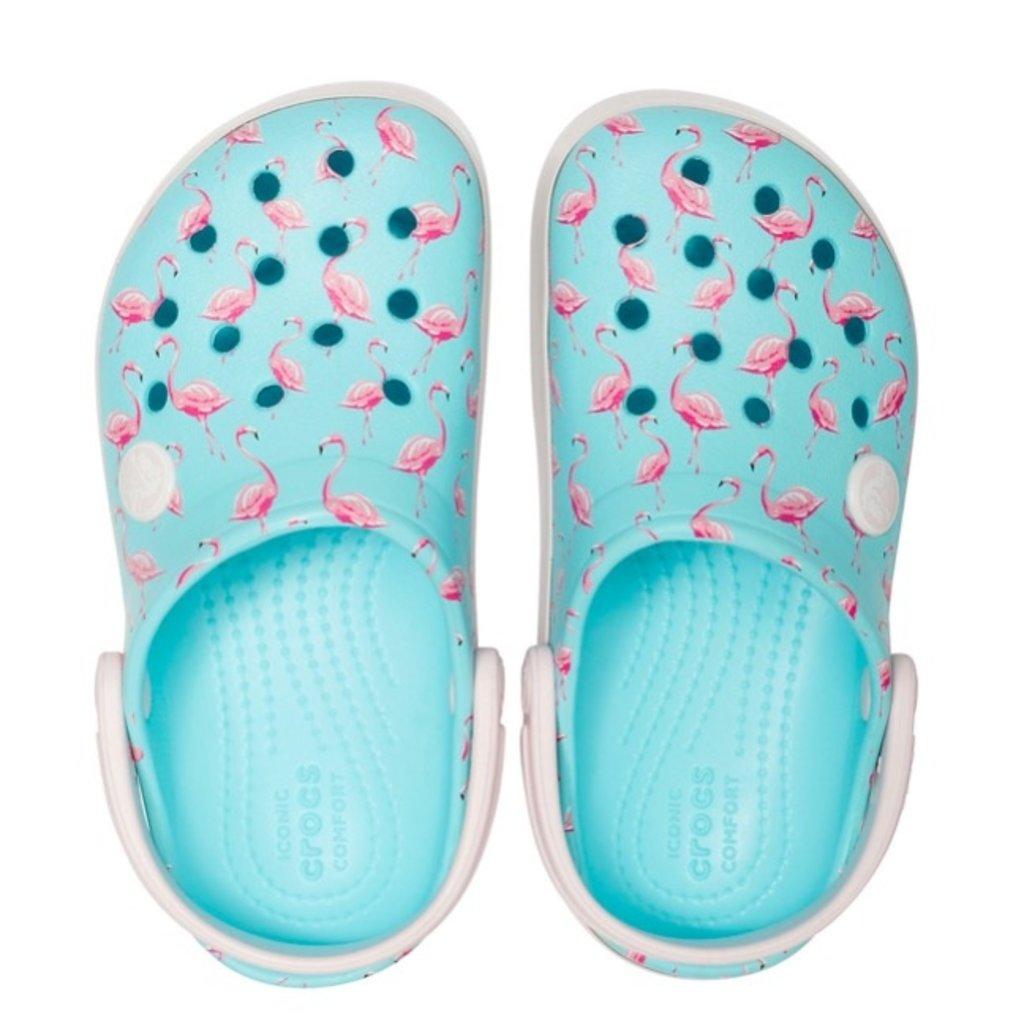 Crocs Crocs Crocband MultiGraphic Clog Ice Blue