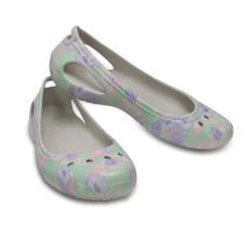 Crocs Crocs Womens Kadee Graphic Flat