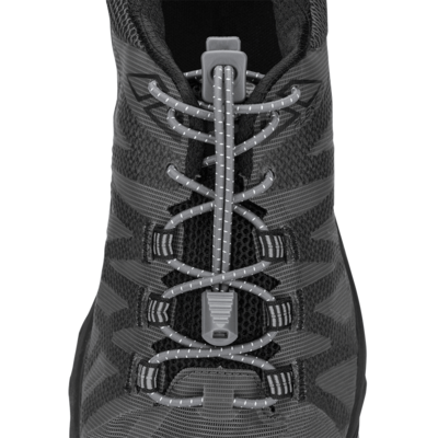 Nathan Nathan Run Laces Steel Grey
