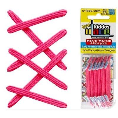 U-Laces Kiddos U-Laces Shocking Pink
