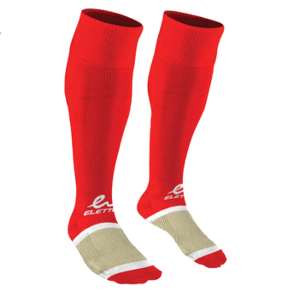 Eletto Eletto Soccer Socks Red/White