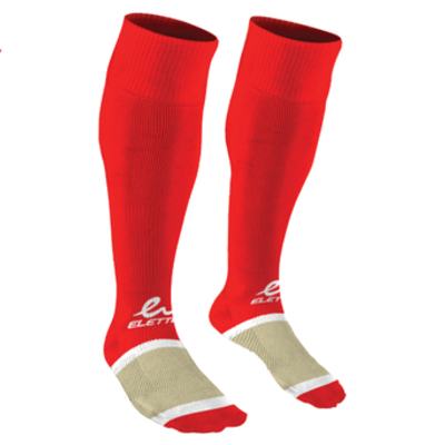 Eletto Eletto Soccer Socks Red/White