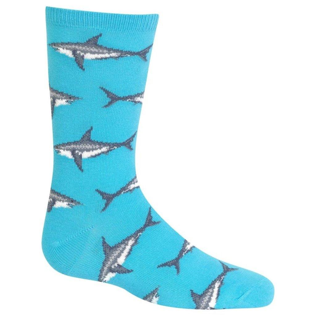 HotSox HotSox Sharks Aqua