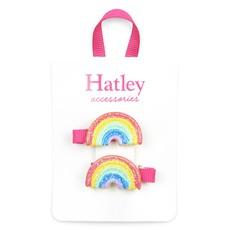 Hatley Hatley Double Rainbow Hair Clips