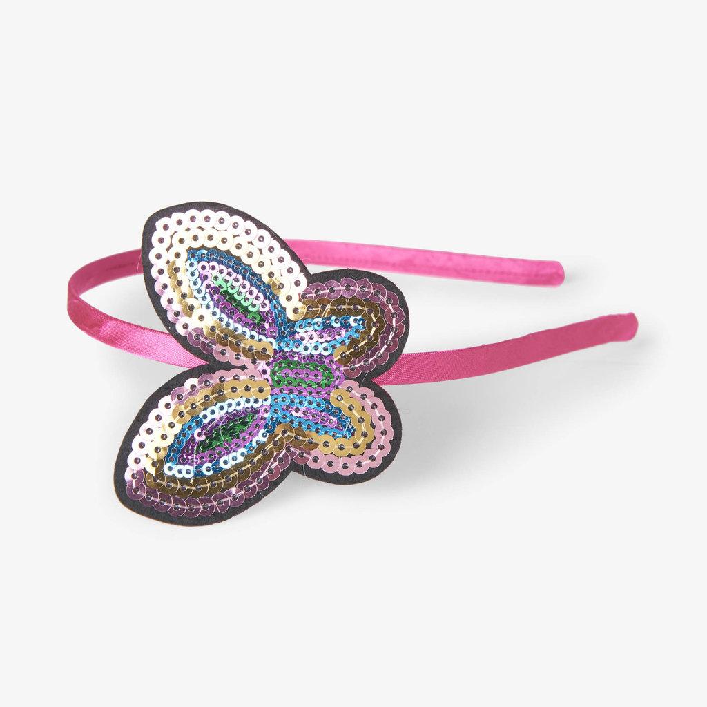 Hatley Hatley Sequined Butterfly Headband