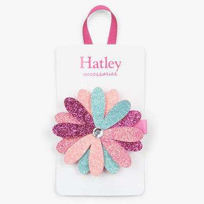 Hatley Hatley Shimmer Flower Large Hair Clip