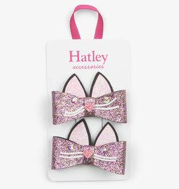 Hatley Hatley Glitter Kitties Hair Clips