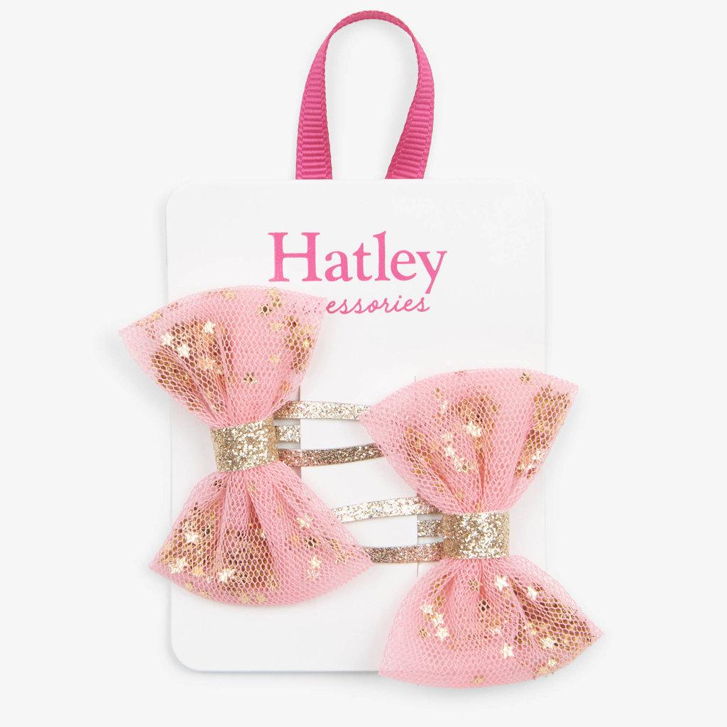 Hatley Hatley Shining Stars Bow Snap Clips