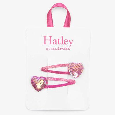 Hatley Hatley Glimmer Hearts Snap Clips
