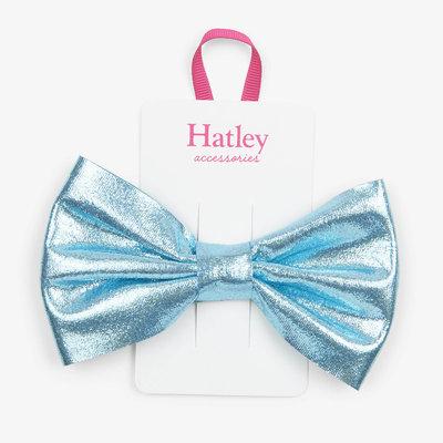 Hatley Hatley Blue Glimmer Bow Hair Clip