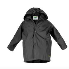 J&K J&K Splashy Rain Coat Black