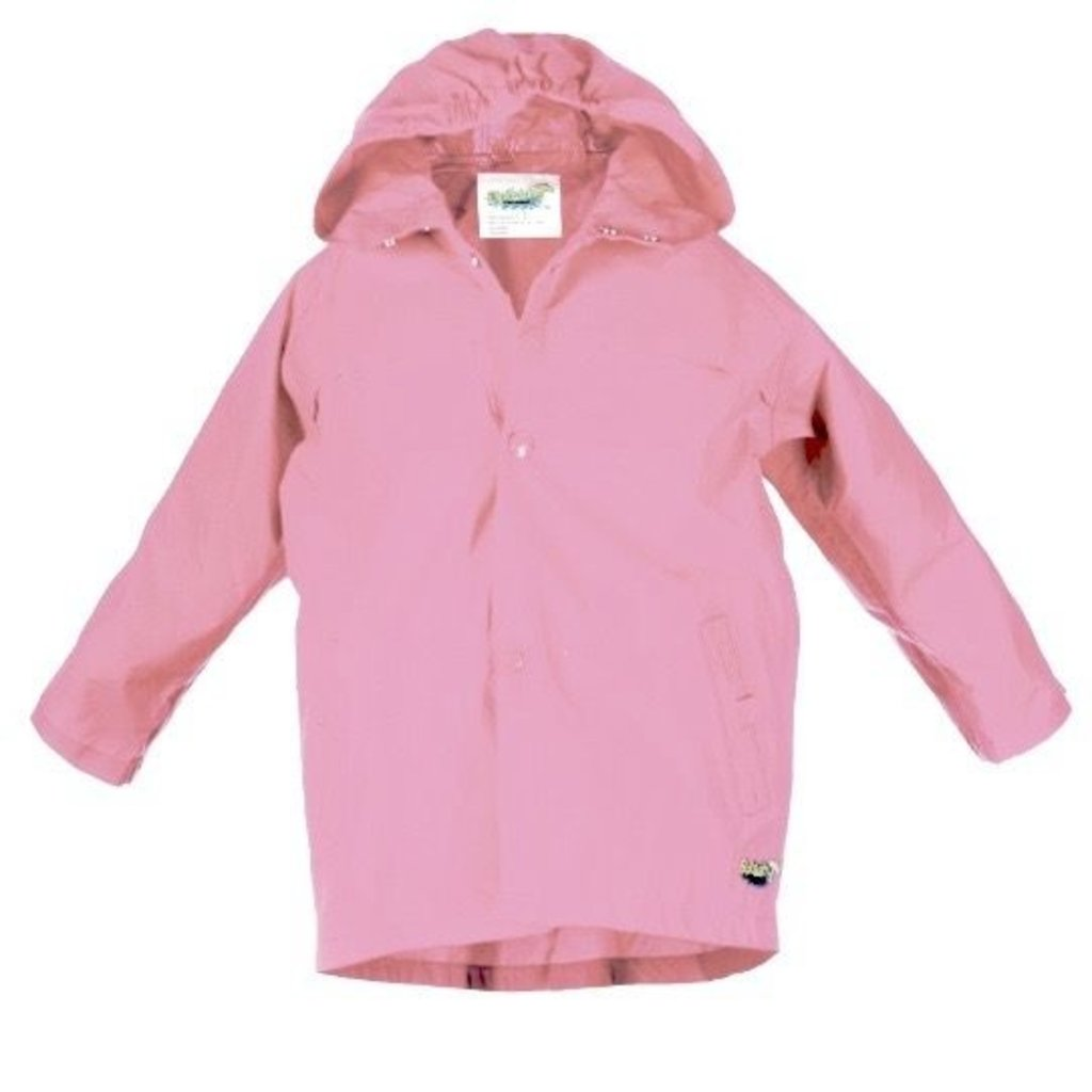 J&K J&K Splashy Rain Coat Pink