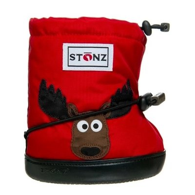 Stonz Stonz Toddler Booties Moose Red