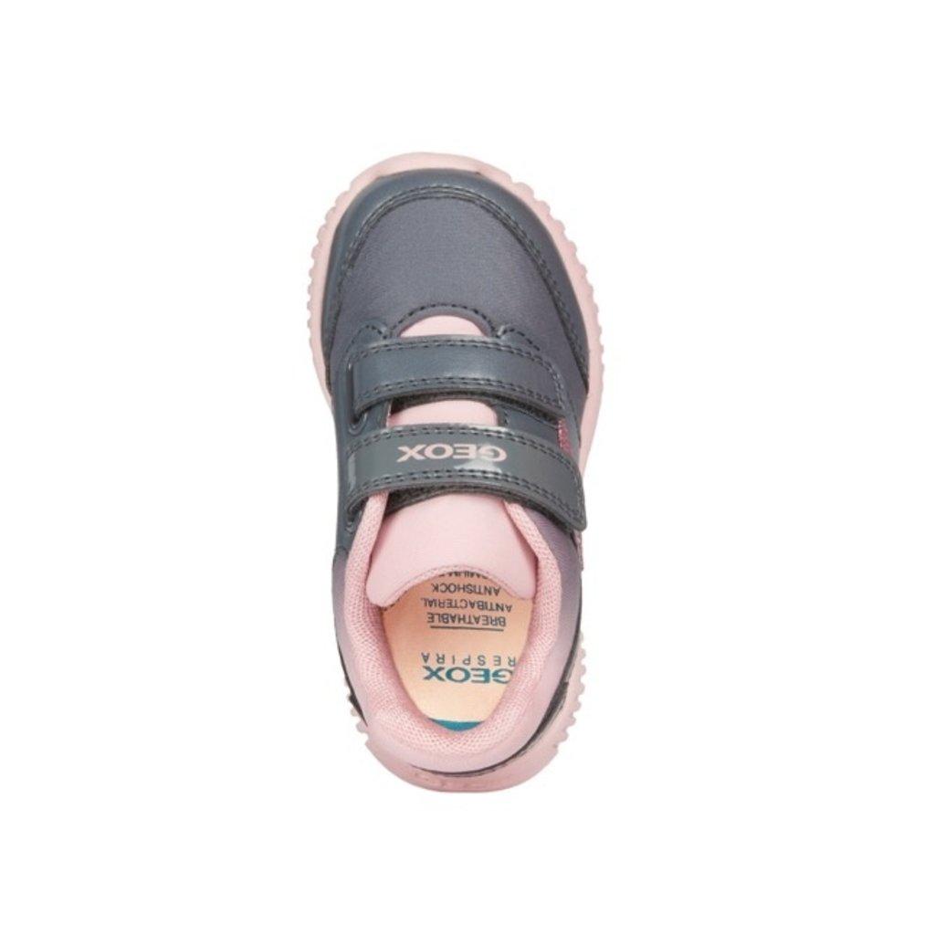 Geox Geox B Waviness Dk Grey/Pink