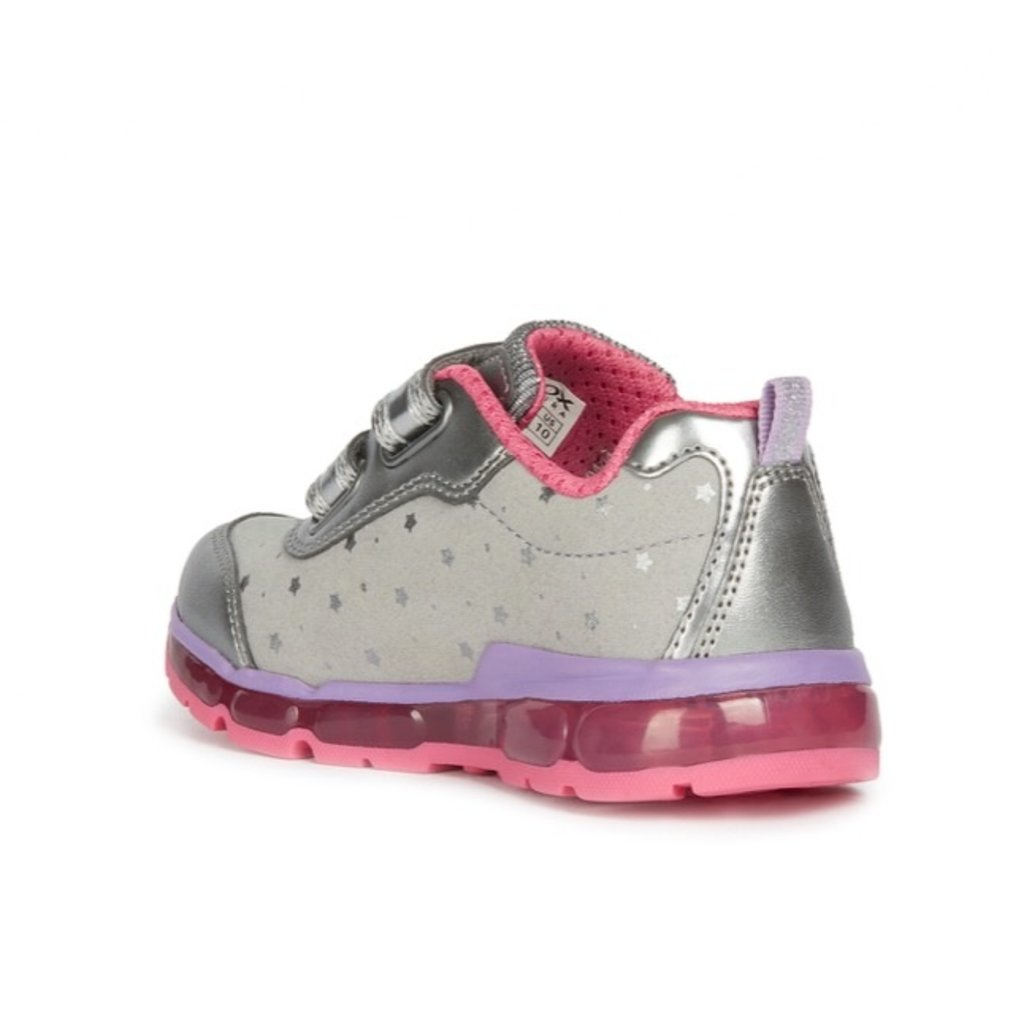Geox Geox Android Dk Silver/Fuchsia