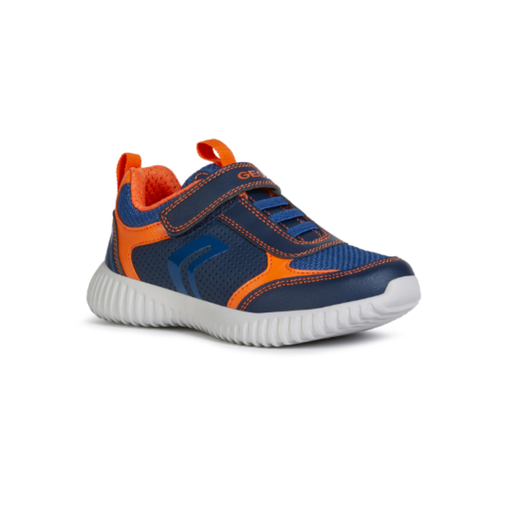 Geox Geox J Waviness Navy/Orange