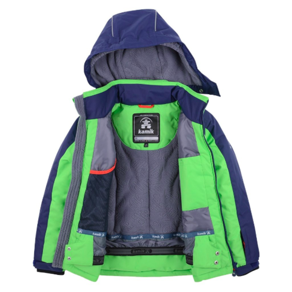 Kamik Hudson Insulated Ski Jacket Little Boys