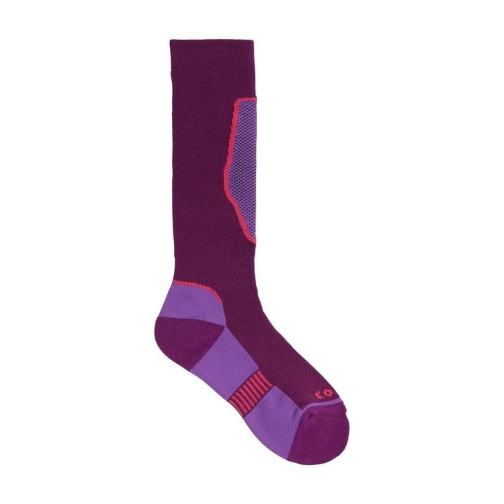 Kombi Kombi Brave Jr Sock Purple Fiction