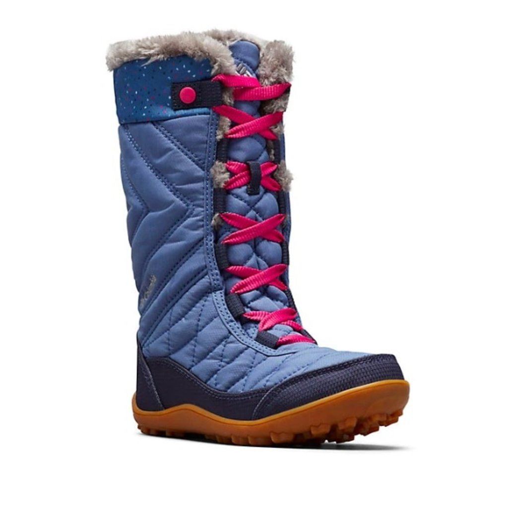 Columbia Columbia Youth Minx Mid III Print Bluebell/Ice Pink Youth 7