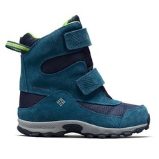 Columbia Columbia Youth Parkers Peak Boot WIDE Collegiate Navy/Fission