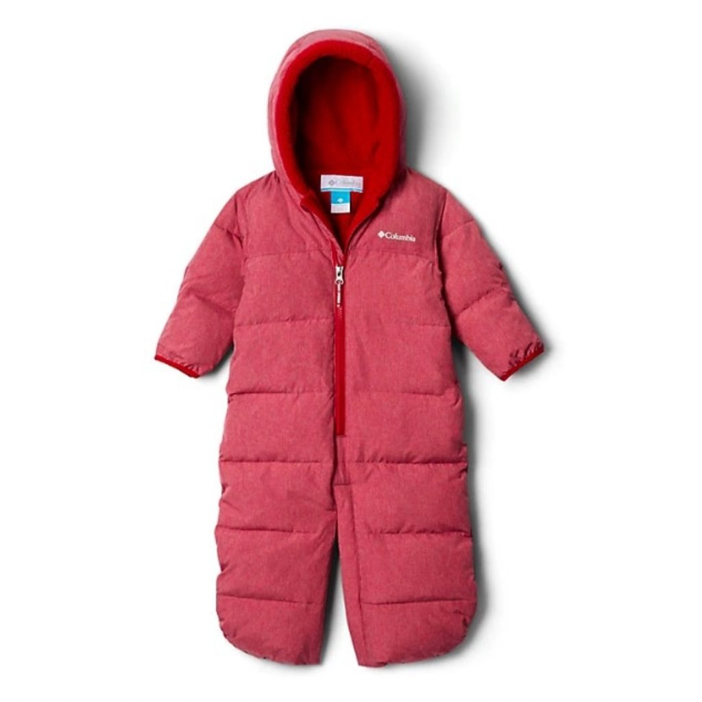 Columbia Columbia Pike Lake Convertible Onesie Pomegranate