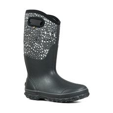 Bogs Bogs Women's Classic Tall Apple Wide Black Multi