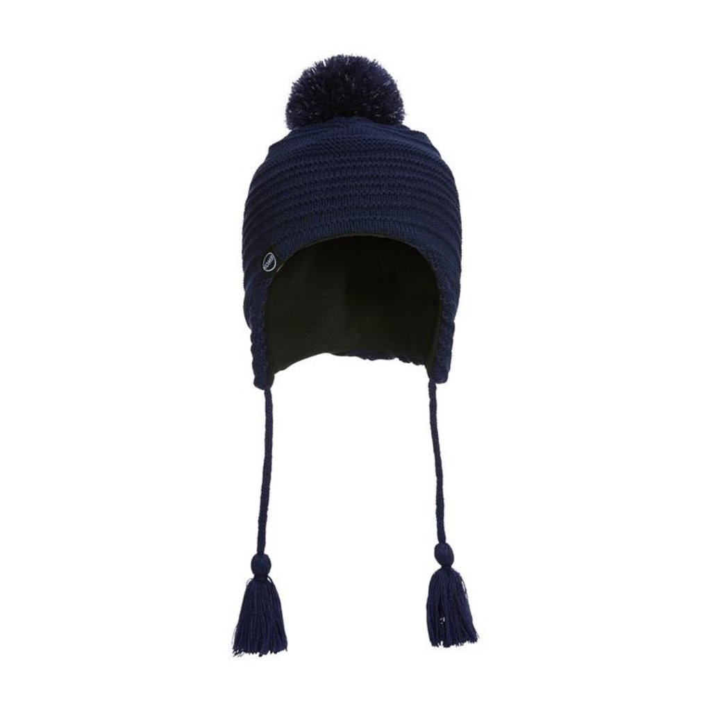 Kombi Kombi The Reflective Pompom Hat Jr Dark Iris