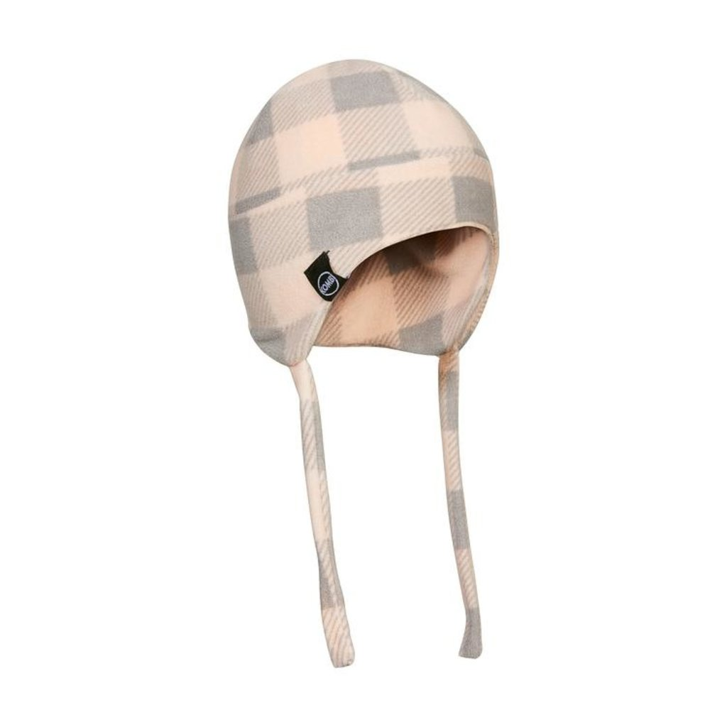 Kombi Kombi The Fleece Beanie Glass Pink Buffalo Plaid