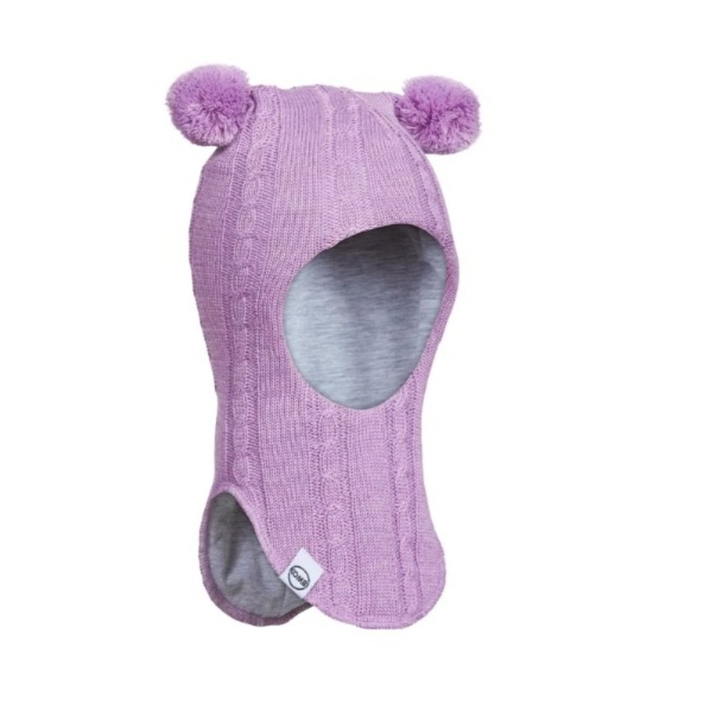 Kombi Kombi Full Moon Knit Balaclava Pink Lavender Heather