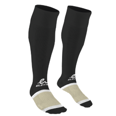 Eletto Eletto Soccer Sock Black/White