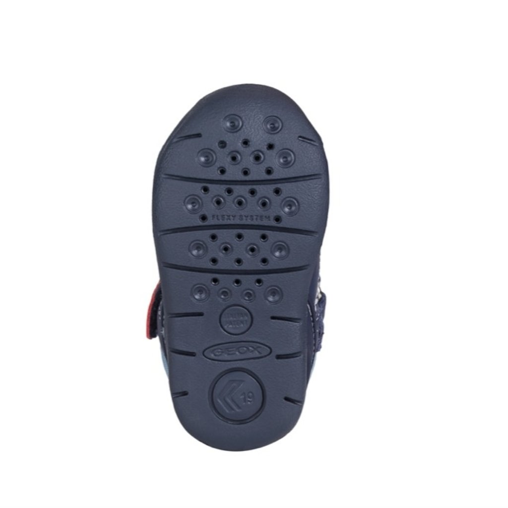 Geox Geox B Each Sandal Navy/White