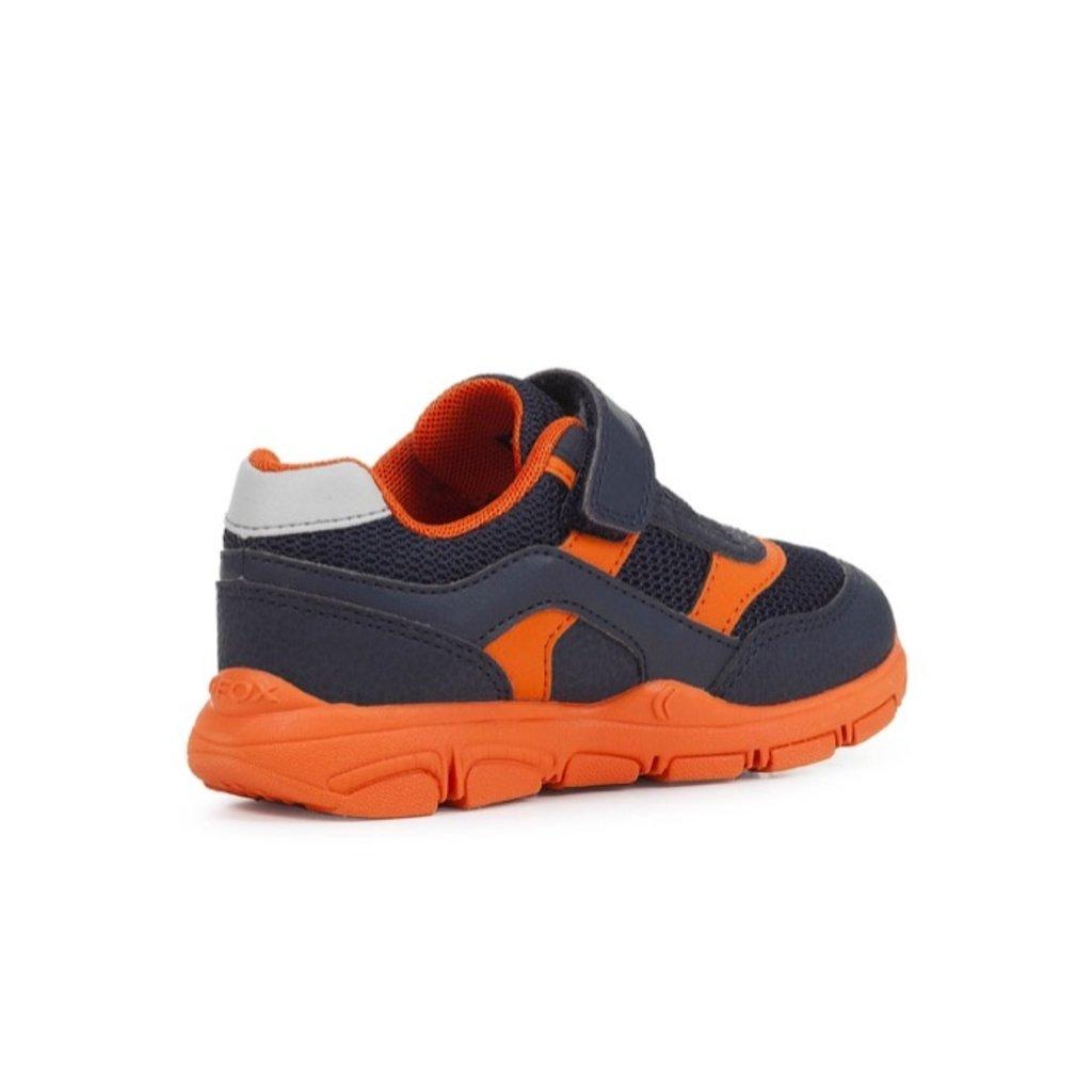 Geox Geox J Torque Navy/Orange