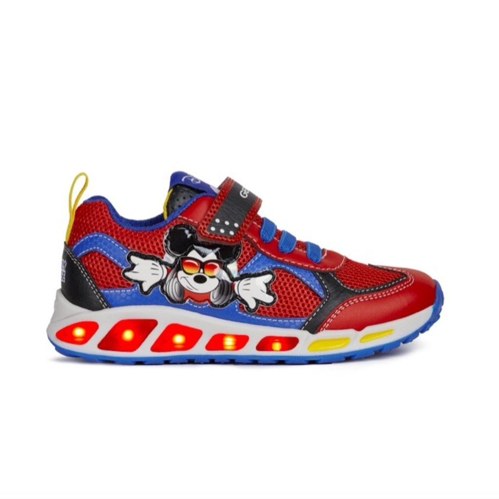 Geox Geox Shuttle Mickey Red/Royal